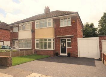 Thumbnail 3 bed semi-detached house for sale in Craven Road, Liverpool