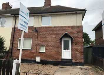 Thumbnail 3 bed semi-detached house for sale in Hartington Street, Langwith, Mansfield