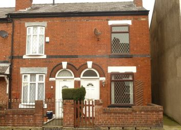 Thumbnail 2 bedroom end terrace house to rent in Hempshaw Lane, Offerton, Stockport