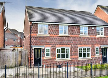 3 bed semi-detached house for sale in Wallbrook Avenue, Macclesfield, Cheshire SK10