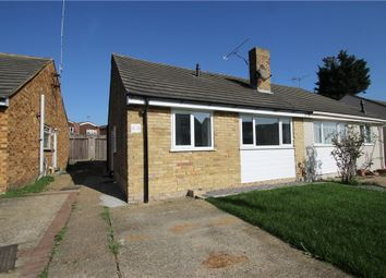 Thumbnail 2 bed semi-detached bungalow for sale in Winston Road, Strood, Kent