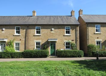 Thumbnail 4 bed end terrace house for sale in Russell Walk, Fairfield, Hitchin, Herts