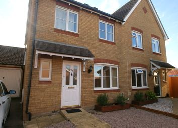 Thumbnail 3 bed semi-detached house to rent in Fairview Gardens, Deal