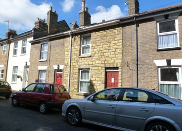 Thumbnail 2 bed terraced house to rent in Langdon Road, Rochester