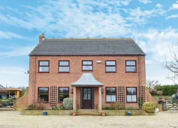Thumbnail 6 bed detached house for sale in Middle Drove, St. Johns Fen End, Wisbech