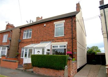 Thumbnail 3 bed semi-detached house for sale in Wire Lane, Newton, Alfreton