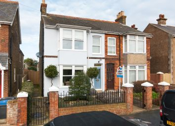 Thumbnail 3 bed semi-detached house for sale in Sydney Road, Walmer, Deal