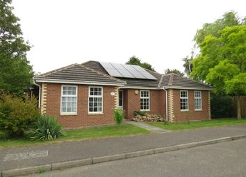 Thumbnail 3 bed detached bungalow for sale in Milfoil Lane, Cowbit, Spalding