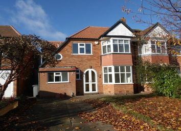 Thumbnail 4 bed property to rent in Heaton Road, Solihull