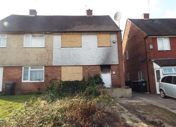 Thumbnail 3 bed semi-detached house for sale in Purcell Road, Coventry