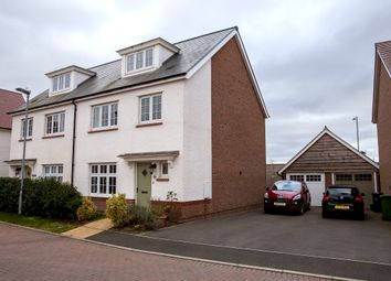 Thumbnail 4 bed town house for sale in Bishops Close, Bathpool, Taunton
