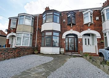 Thumbnail 3 bedroom terraced house for sale in Woldcarr Road, Hull