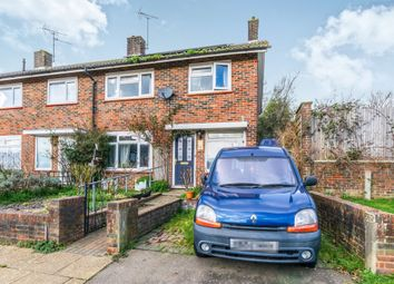 Thumbnail 3 bed end terrace house for sale in Dickens Road, Crawley