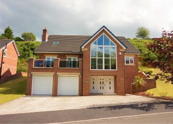 Thumbnail 4 bed detached house for sale in Vale View, Leek