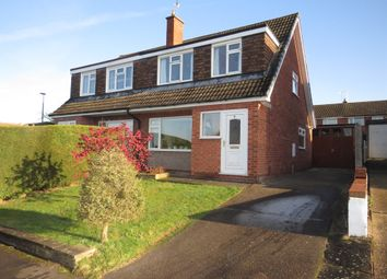 Thumbnail 3 bed semi-detached house for sale in Rigsby Court, Mickleover, Derby