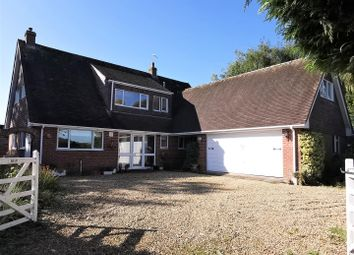 Thumbnail 4 bed detached bungalow for sale in Stoney Heath, Baughurst, Tadley