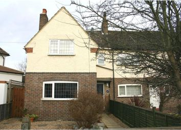 Thumbnail 3 bedroom end terrace house to rent in Lower Downs Road, Wimbledon