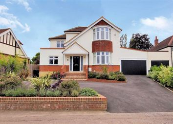 Thumbnail 4 bed detached house to rent in Theydon Park Road, Theydon Bois, Epping
