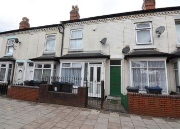 Thumbnail 3 bed terraced house for sale in Wright Road, Saltley, Birmingham