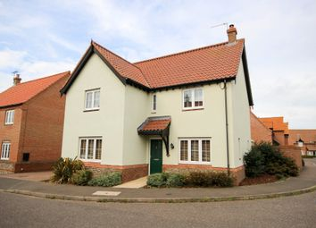Thumbnail 4 bed detached house for sale in Stable Field Way, Hemsby, Great Yarmouth