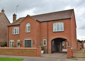 Thumbnail 4 bed detached house for sale in Mountbatten Road, Dersingham, King's Lynn