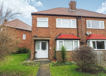 Thumbnail 3 bed semi-detached house for sale in Gisburn Road, Hessle