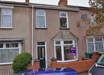 Thumbnail 3 bed terraced house for sale in Stockton Road, Newport