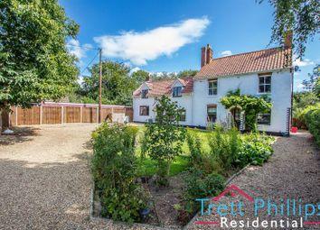 Thumbnail 5 bed detached house for sale in School Road, Frettenham, Norwich