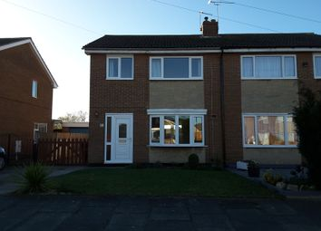 Thumbnail 3 bed semi-detached house to rent in Bretby Close, Cantley, Doncaster