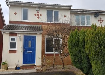 Thumbnail 3 bed end terrace house to rent in Howards Way, Gorseinon