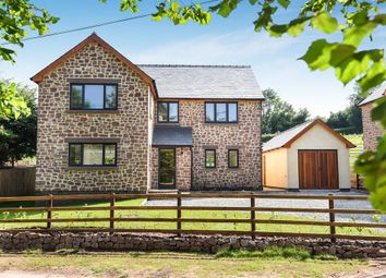 Thumbnail 4 bed detached house for sale in Oak House, Tresseck Mill Road, Hoarwithy