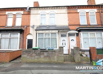 Thumbnail 3 bed terraced house to rent in Poplar Road, Bearwood