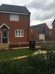 Thumbnail 3 bed end terrace house to rent in Thornborough Way, Hamilton, Leicester