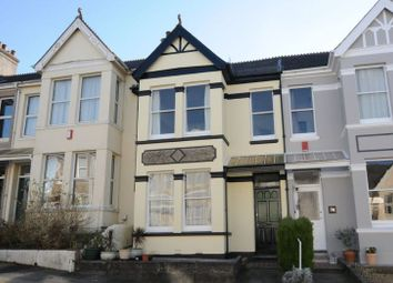 Thumbnail 3 bed terraced house for sale in Ganna Park Road, Plymouth