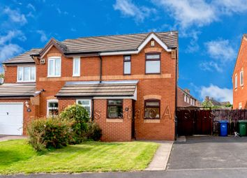 Thumbnail 2 bed semi-detached house to rent in Blake Close, Cannock