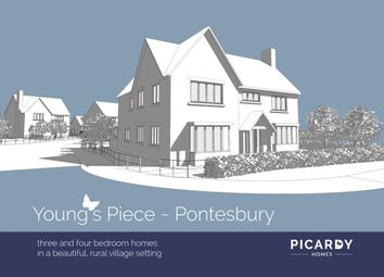 Thumbnail 3 bedroom detached house for sale in Plot 14 Young's Piece, Pontesbury