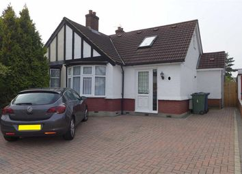 Thumbnail 3 bed semi-detached bungalow for sale in Grasmere Gardens, Harrow Weald, Middlesex