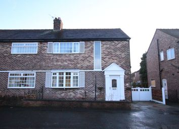 Thumbnail 3 bed semi-detached house to rent in Kingsway, East Didsbury, Manchester