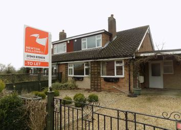 Thumbnail 3 bed semi-detached house to rent in Plungar Road, Granby, Nottingham