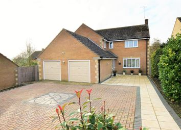 Thumbnail 4 bed detached house for sale in Dovecote Close, Barrowden, Rutland