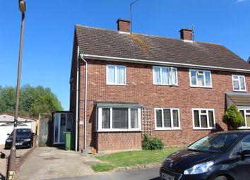 Thumbnail 3 bed semi-detached house for sale in Althorpe Crescent, Bradville, Milton Keynes