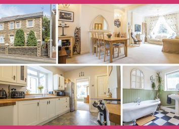 Thumbnail 3 bed semi-detached house for sale in Commercial Road, Machen, Caerphilly