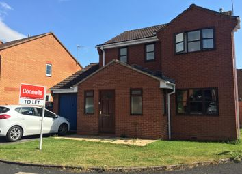 Thumbnail 3 bedroom detached house to rent in Grasshopper Avenue, Worcester