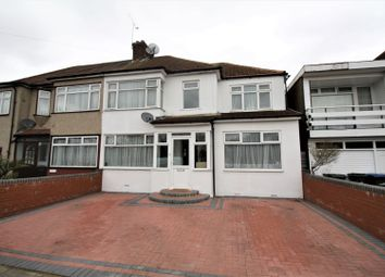 Thumbnail 5 bed end terrace house for sale in Woodcote Close, Enfield