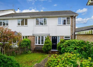 Thumbnail 3 bed semi-detached house for sale in Catherine Vale, Woodingdean, Brighton, East Sussex