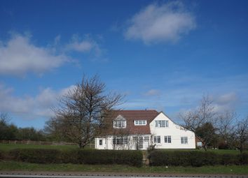 Thumbnail 3 bed detached house for sale in Walsall Road, Lichfield