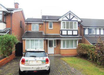 Thumbnail 4 bed detached house to rent in St. Andrew Close, Hednesford, Cannock