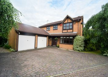 Thumbnail 4 bed detached house for sale in Reeves Close, Whetstone, Leicestershire