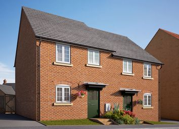 "Thumbnail 3 bed semi-detached house for sale in ""The Wolston"" at Coventry Road, Cawston, Rugby"