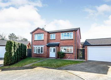 Thumbnail 4 bed detached house for sale in Willowsmere Drive, Boley Park, Lichfield, Staffordshire